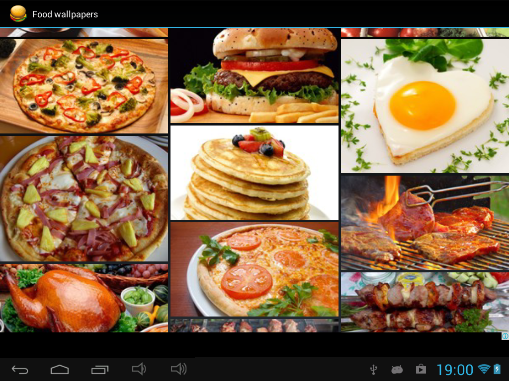 Food wallpapers android apps on google play - Application android cuisine ...