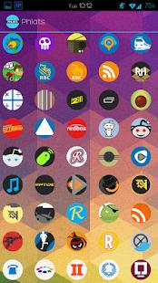玩個人化App|Phlats (Go Apex Nova theme)免費|APP試玩