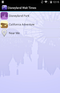 Disneyland Wait Times- screenshot thumbnail