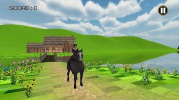 Screenshot of Horse Adventure Travel Run