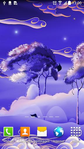 Mystic Night Wallpaper
