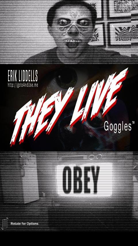 They Live Goggles- screenshot