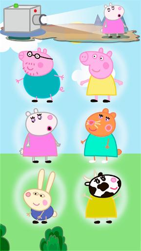 粉紅豬小妹。嬰兒遊戲