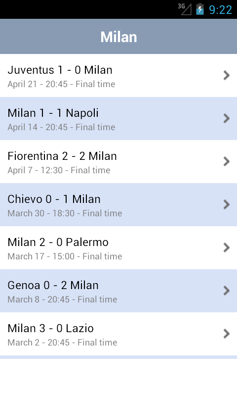 AC Milan - screenshot