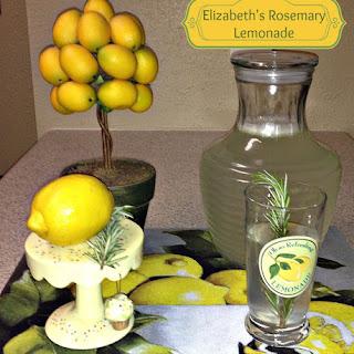 Elizabeth's Rosemary Lemonade