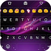 Purple Emoji Keyboard 🔮🔮