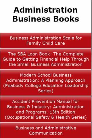 Administration Business Books