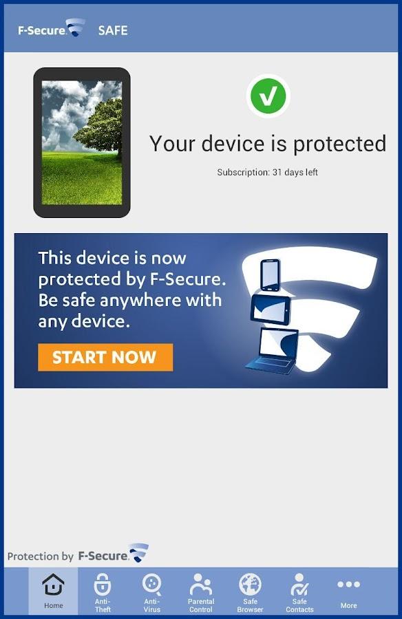 F-Secure SAFE - screenshot