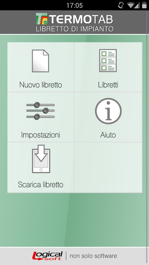 Termotab Libretto- screenshot