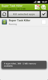 Super Task Killer FREE - screenshot thumbnail