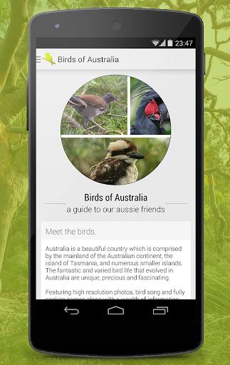 Birdlife of Australia Free