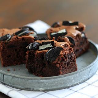 Oreo Brownies, a Variation of Irresistible Brownies.
