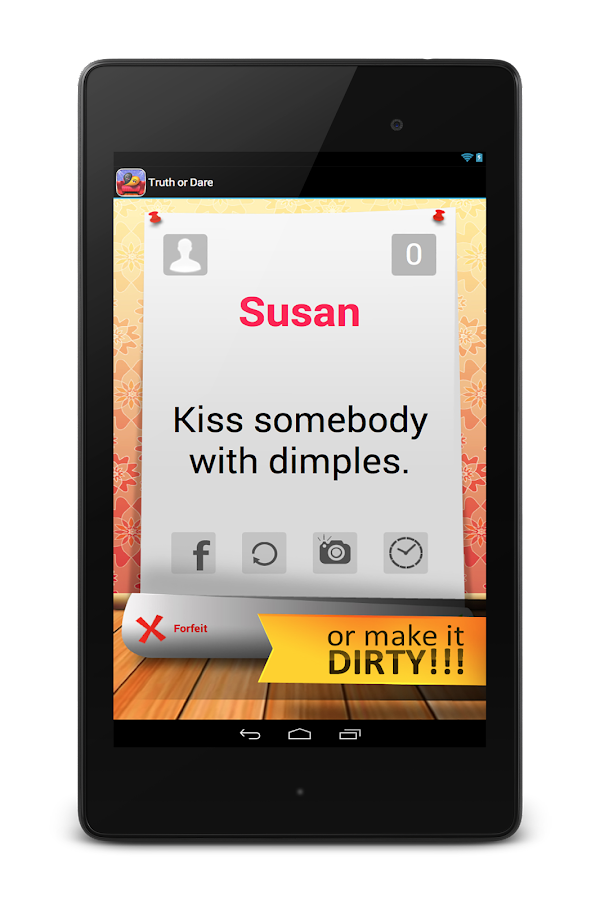 Truth or Dare Adults - screenshot