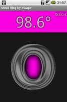 Screenshot of Mood Ring Thermometer