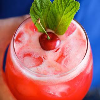 Sparkling Cherry Lemonade.