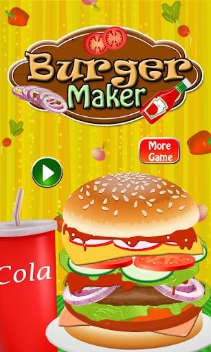 烹飪遊戲 - 漢堡製造商