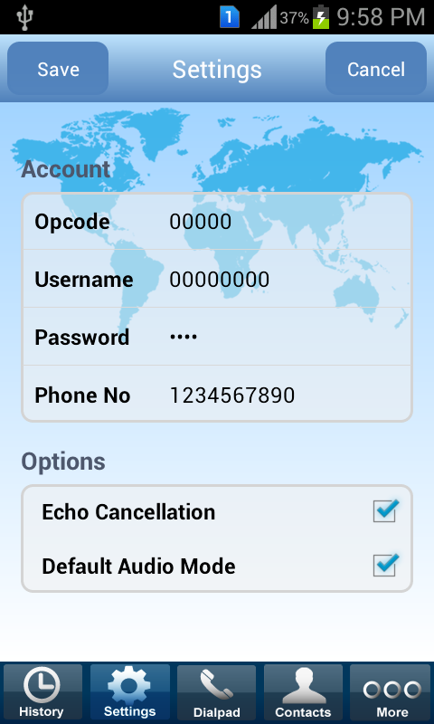 Platinum Dialer- screenshot
