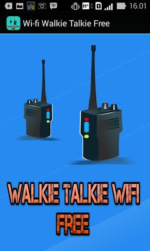 Walkie Talkie Wifi Free