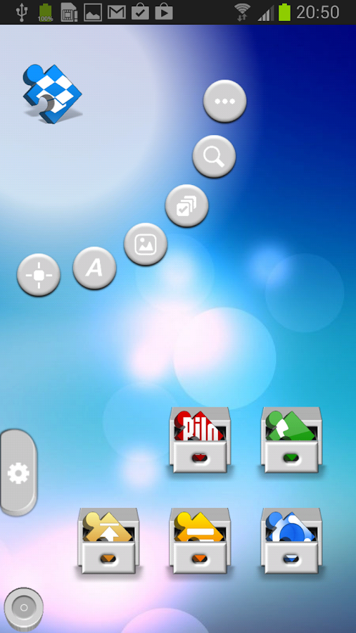 TSF Shell Theme Puzzle HD - screenshot