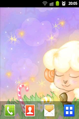 Dreaming Sheep Live Wallpaper