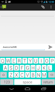 YouType - Flat Keyboard - screenshot thumbnail