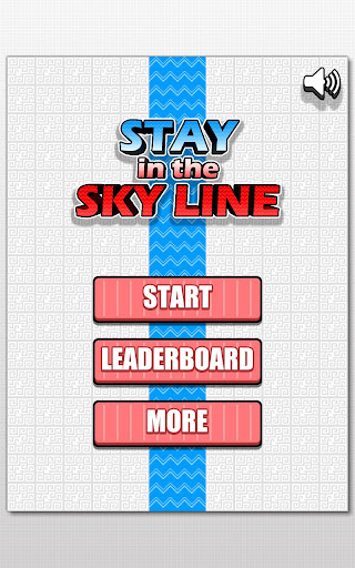 Stay in the sky line