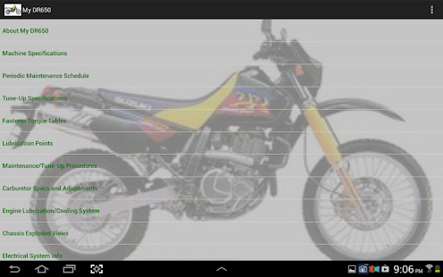 My DR650- screenshot thumbnail