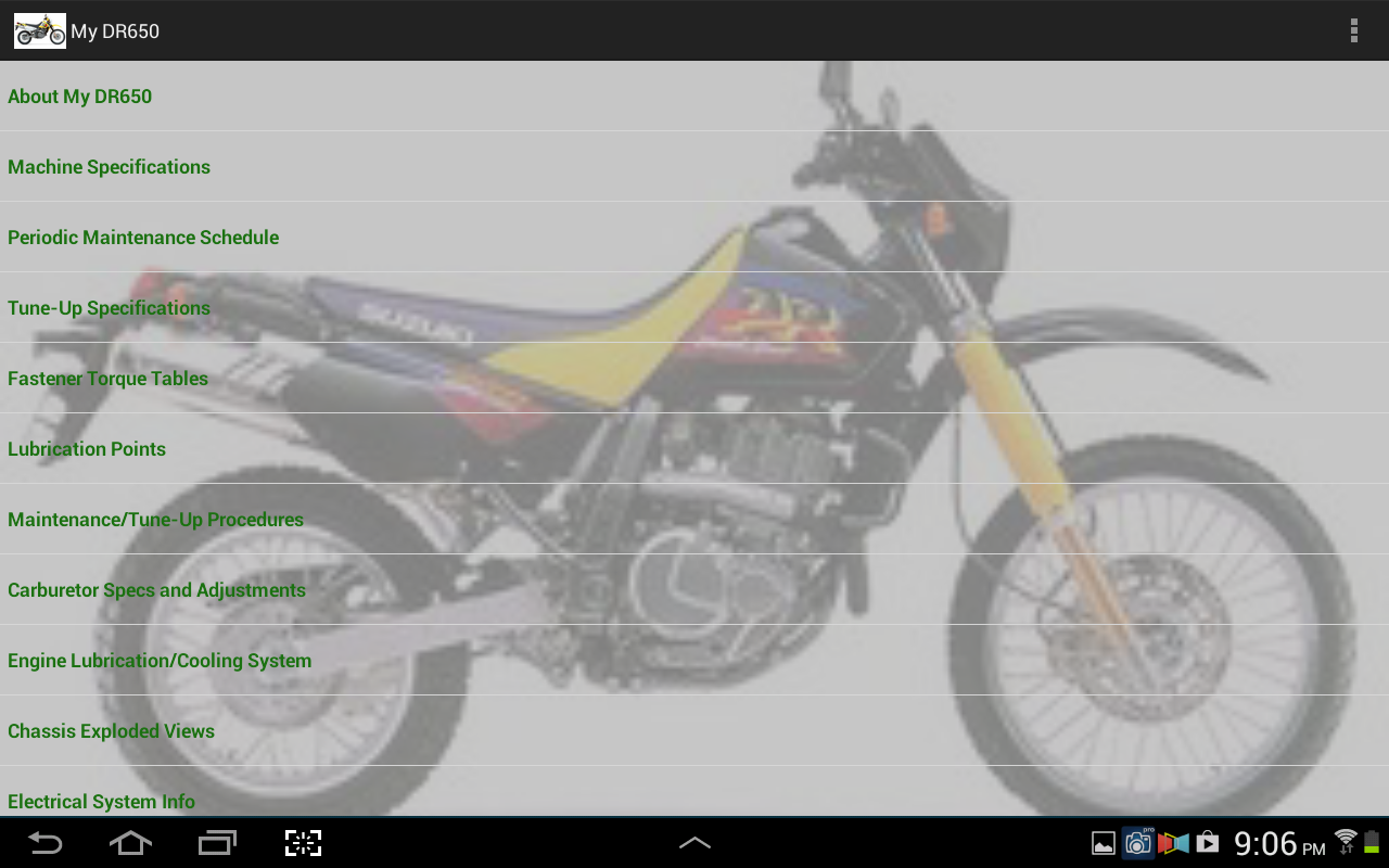 My DR650- screenshot