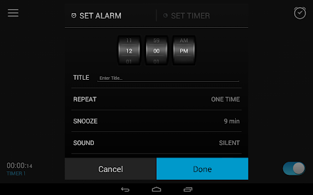 Alarm Clock 2.8.1 screenshot 47633