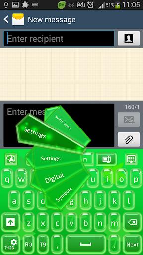 GO输入法绿色玻璃
