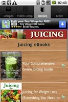 Screenshot of Juicing Recipes, Tips & More!