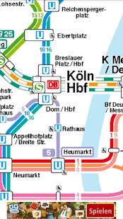 Köln Public Transport - náhled