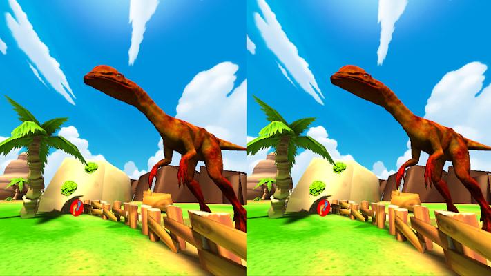 VR Dino Animals Park-Cardboard - screenshot