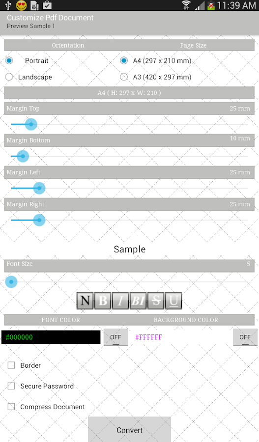 Contacts to Text - screenshot