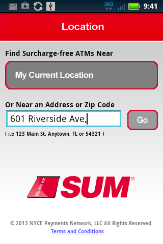 SUM ATM Locator- screenshot