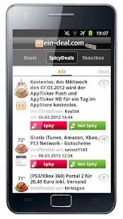 Mein-Deal.com Schnäppchen App - screenshot thumbnail