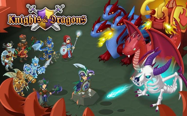 android Knights & Dragons - Action RPG Screenshot 9