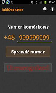 Operator Checker - screenshot thumbnail