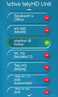 Tely Smart Remote- screenshot thumbnail