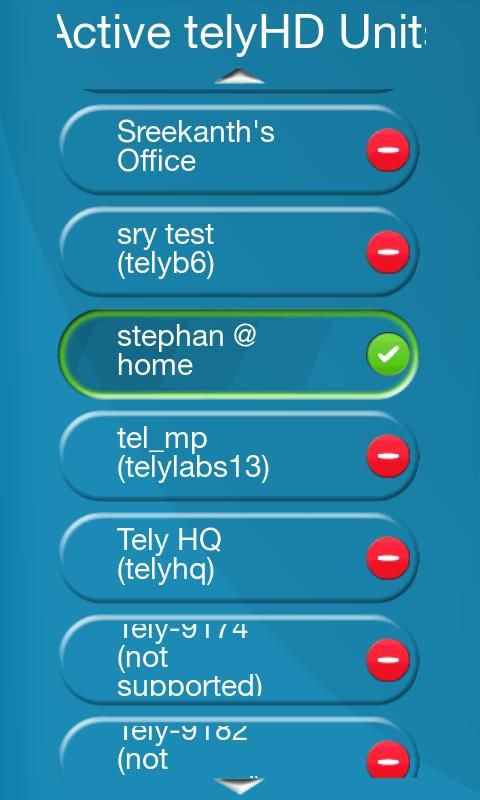 telyHD Smart Remote - screenshot