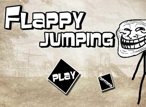 【免費街機App】Flappy Jumping-APP點子