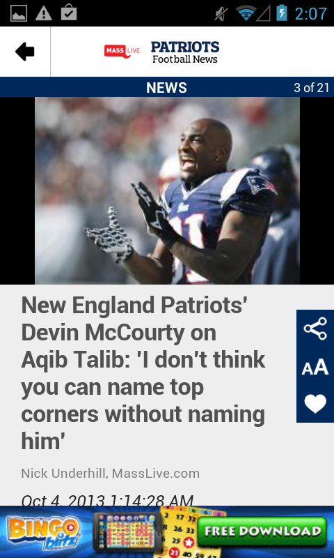 MassLive.com: Patriots News - screenshot
