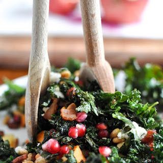 Crispy Autumn Kale Salad.