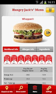 Hungry Jack's® Shake & Win App - screenshot thumbnail