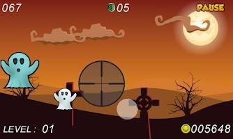 Screenshot of Ghost Hunting Halloween Shoot
