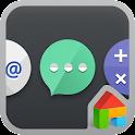 Cutout LINE Launcher theme icon