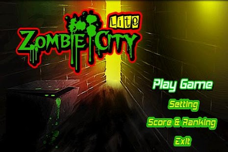 Zombie City(Lite) Screenshot 3