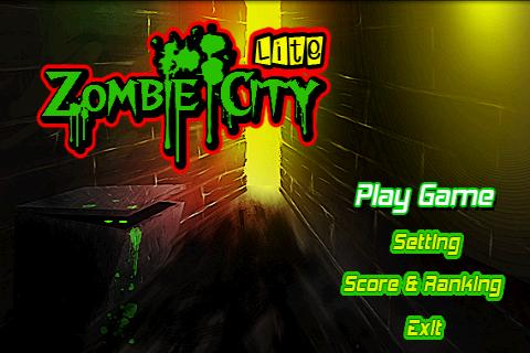 Zombie City(Lite)- screenshot
