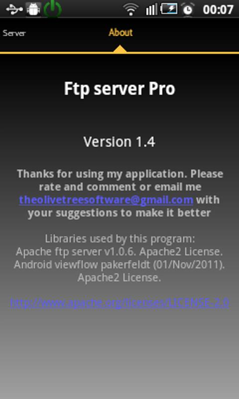Ftp Server Pro TV- screenshot