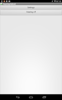 Screenshot of HearingAidroid